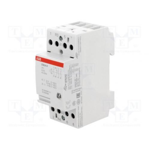 Модульный контактор ESB-24-31 (24А AC1) катушка 24B AC/DC Я_GHE3291602R0001