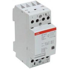 Модульный контактор ESB-24-40 (24А AC1) катушка 12B AC/DC