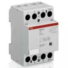 Модульный контактор ESB-63-40 (63А AC1) катушка 24B AC/DC