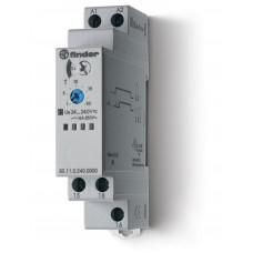 Модульный таймер 1-функциональный (AI); питание 24…240В АС/DC; 1CO 16A;регулировка времени 0.1с…24ч;