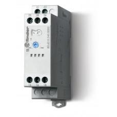 Модульный таймер 1-функциональный (BI); питание 24…240В АС/DC; 2CO 8A; регулировка времени 0.05с…180c;
