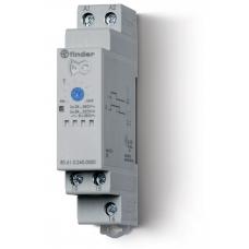 Модульный таймер 1-функциональный (ВI); питание 24…240В АС/DC; 1CO 8A;регулировка времени 0.05с…180c;