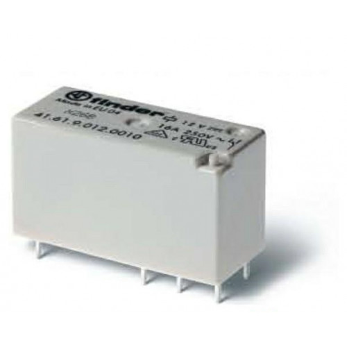 Низкопрофильное миниатюрное электромеханическое реле;  1CO 16A;  катушка 110В DС; 416191100011