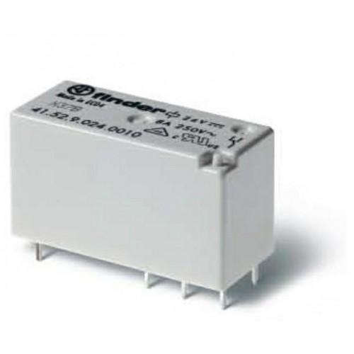 Низкопрофильное миниатюрное электромеханическое реле;  2CO 8A;  катушка 12В DС; 415290120011