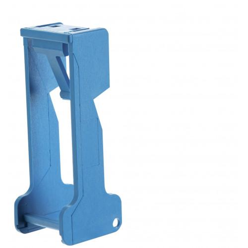 Пластиковая клипса для реле 40, 44 серии для розеток 95.03, 95.05; синий 09501