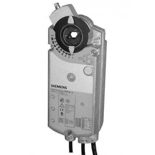Привод воздушной заслонки, поворотный, 35 Nm,  DС 0…10V, AC 24V GIB161.1E