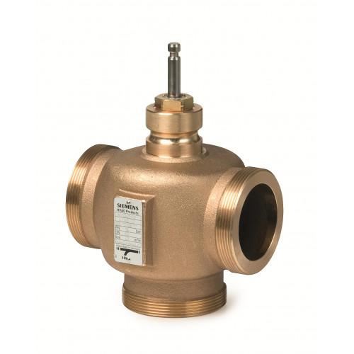 Регулирующий клапан, 3-ходовой, Kvs 25, Dn 40, шток 20/40 VXG41.4001