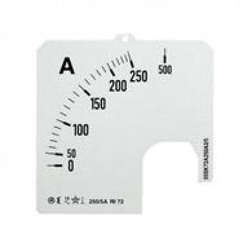Шкала для амперметра SCL 1/200A A1 2CSM110229R1041