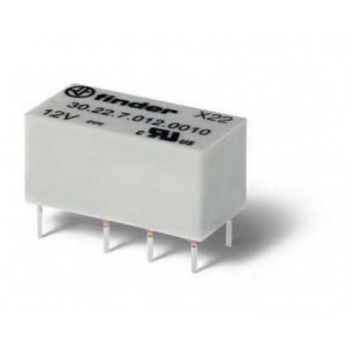 Субминиатюрное электромеханическое двухрядное реле;2CO 2A; катушка 24В DC; 302290240010
