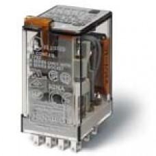 Миниатюрное универсальное электромеханическое реле; 4CO 7A; катушка 230В АC;  опции: кнопка тест + L
