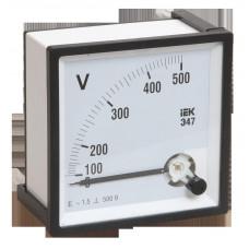 Вольтметр Э47 500В кл. точн. 1,5 72х72мм