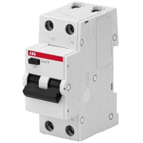 Выключатель автоматический дифференциального тока, 1P+N, 20А, C, 4.5kA, 30мA, AC, BMR415C20 2CSR645041R1204