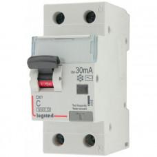 Выключатель автоматический дифференциального тока АВДТ DX3 1п+N 16А 30мА АС