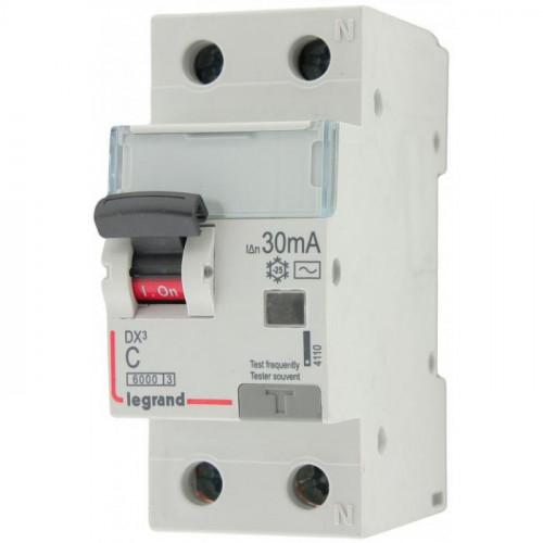 Выключатель автоматический дифференциального тока АВДТ DX3 1п+N 40А 30мА АС 411006