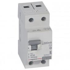 Выключатель дифференциально тока RX3 ВДТ 300мА 63А 2П AC