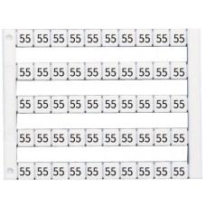 Я_Вертик. марк-ка (1-10),  DY10/6.5, 1 пластина - 30 шт. (500шт/упак)